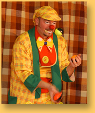 clown jongleur